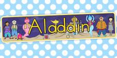 Aladdin Display Banner (Australia)