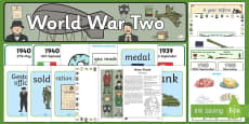 World War Two Resource Pack