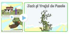 Jack and the Beanstalk Story PowerPoint EAL Romanian