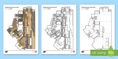 Edinburgh Castle Paper Model