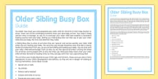 Guide to Creating an Older Sibling Busy Box