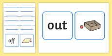 Positional Language Matching Cards