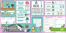 The Doctors' Surgery Aistear Display Pack Gaeilge