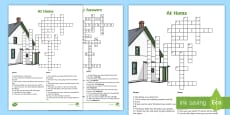 * NEW * At Home Crossword