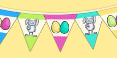 Easter Party Picture Bunting