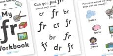 My 'fr' Letter Blend Workbook