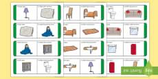 Items in the Home Loop Cards - Gaeilge