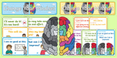 Developing Growth Mindset Display Pack