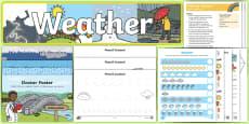 Childminder Weather EYFS Resource Pack