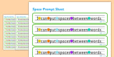 I Can Put Spaces Between Words Prompt Strips