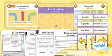 PlanIt - French Year 4 - On the Move Lesson 3: Directions Lesson Pack