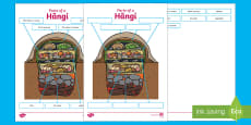 Hangi Labelling Activity Sheet