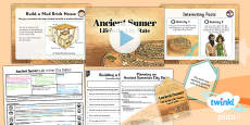 History: Ancient Sumer: Life in the City States UKS2 Lesson Pack 2
