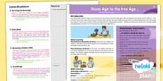 PlanIt - History UKS2 - Stone Age to the Iron Age Planning Overview