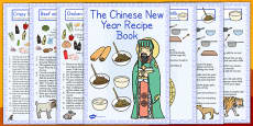 Chinese New Year Recipe Booklet