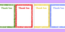 80th Birthday Party Thank You Note