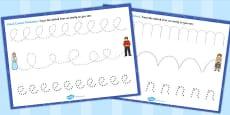Cinderella Pencil Control Sheets