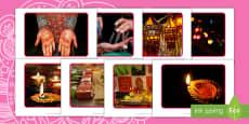 * NEW * Lluniau Arddangos Diwali