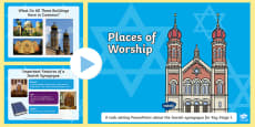 Places of Worship Jewish Synagogues KS1 PowerPoint