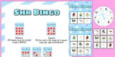 SHR Spinner Bingo