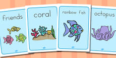 Australia - Display Posters to Support Teaching on The Rainbow Fish