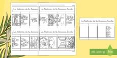 Cuadernillo de ventanillas: La historia de la Semana Santa