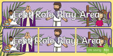 Lent Role Play Banner