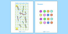Snakes And Ladders (1-50)