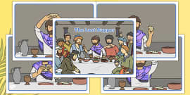 The Last Supper Story Sequencing