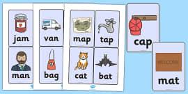 CVC Word Cards (a)