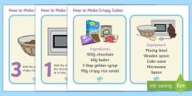 How to Make Crispy Cakes