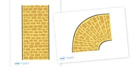 Display Yellow Brick Road