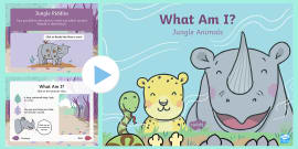 What Am I? Jungle Animal PowerPoint