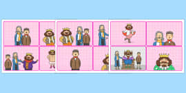 The Emperors New Clothes Story Sequencing Cards