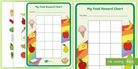 My Food Reward Chart