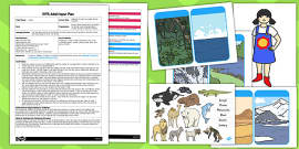 EYFS Animal Habitats Jungle Animals Themed Adult Input Plan and Resource Pack