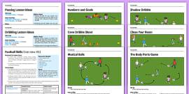 KS1 Football Skills Pack