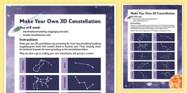 Make Your Own 3D Constellation
