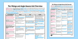 Vikings and Anglo-Saxons Planning Overview