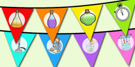 World Science Day Bunting