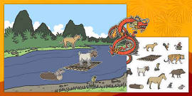 Chinese New Year Animal Sequencing Activity