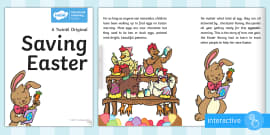 Saving Easter eBook