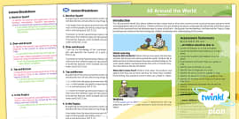 Geography: All Around the World Year 4 Planning Overview CfE