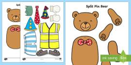 Split Pin Bear Activity