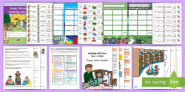 * NEW * Year 1 Reading At Home Resource Pack