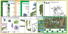 EYFS Roald Dahl Themed Activity Pack to Support Teaching on The Enormous Crocodile