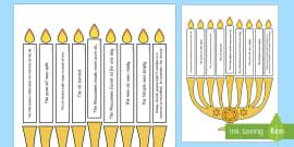 Light The Candle Hanukkah Puzzle