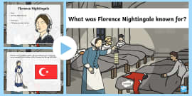 What was Florence Nightingale Known for PowerPoint