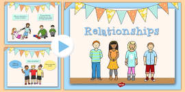 Good and Bad Relationships PowerPoint