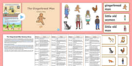 The Gingerbread Man Sensory Story Resource Pack